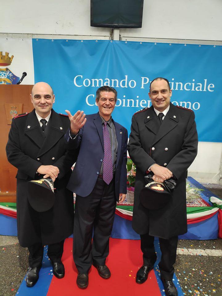 Decimo anniversario Comando Stazione Carabinieri Turate (Como)